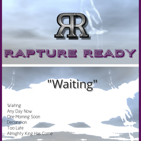 Rapture Ready Album Cover template