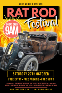 Rat Rod Festival Poster