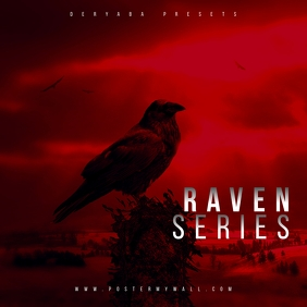 Raven Red Mixtape CD Cover
