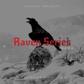 Raven Series Black & White CD Cover