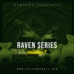 Raven Series CD Cover Template