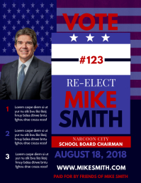 Re-Election Flyer