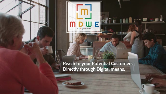 Reach to your Potential Customer video poster Facebook-omslagvideo (16:9) template