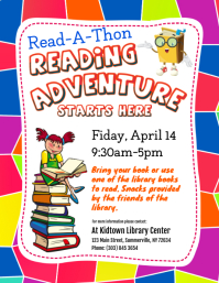 Read-A-Thon Flyer
