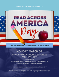 Read Across America Day Flyer