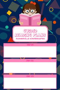 Reading Plan Poster