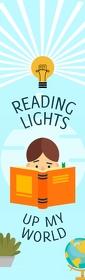 Reading Quote Bookmark Legal Setengah Halaman template