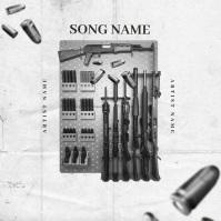 Ready GUNS Mixtape Album Cover video Template Okładka albumu