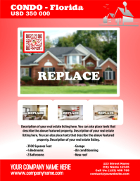 Real estate flyer - Letter size version