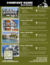 Real estate flyer - Letter sizes version