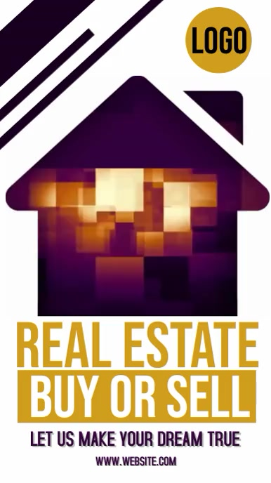 REAL ESTATE AD ADS ADVERT SOCIAL MEDIA Instagram Story template