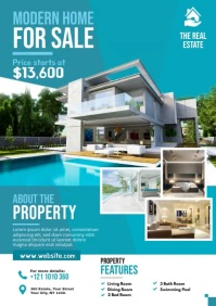 Real Estate Ad A4 template