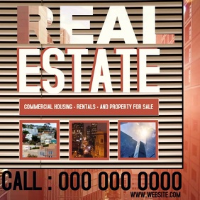 REAL ESTATE AD DIGITAL VIDEO SOCIAL MEDIA