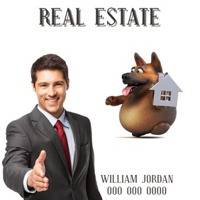 REAL ESTATE ad digital video template