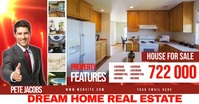 REAL ESTATE ad HOUSE FOR SALE template