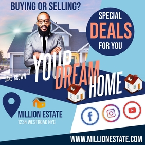 REAL ESTATE AD SOCIAL MEDIA TEMPLATE Logotipo