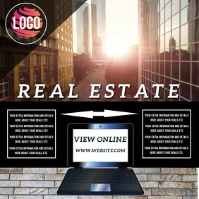 REAL ESTATE AD TEMPLATE
