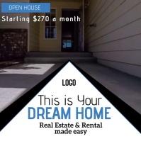 real estate AD TEMPLATE Logo