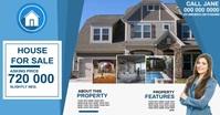 real estate ad template Gambar Bersama Facebook