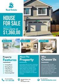 Real Estate Ad Template A4