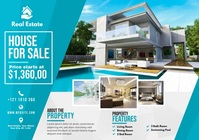 Real Estate Advert A4 template