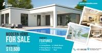 Real Estate Agency Ad Ibinahaging Larawan sa Facebook template