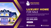 Real Estate Agency Ads Digital Display (16:9) template