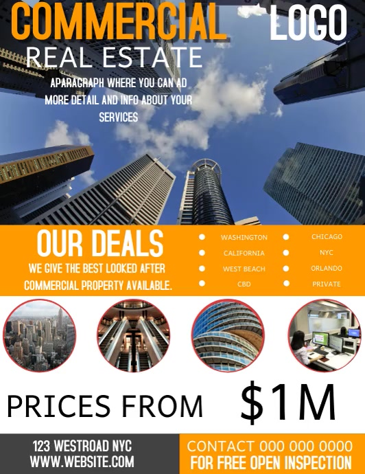REAL ESTATE AGENCY FLYER VIDEO TEMPLATE