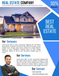 Customizable Design Templates For Property Business Flyer Template - Real estate agent flyer template