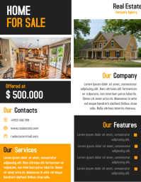 Real Estate Agent Business flyer and Poster Template