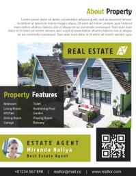 Real Estate Agent Flyer & Brochure Design