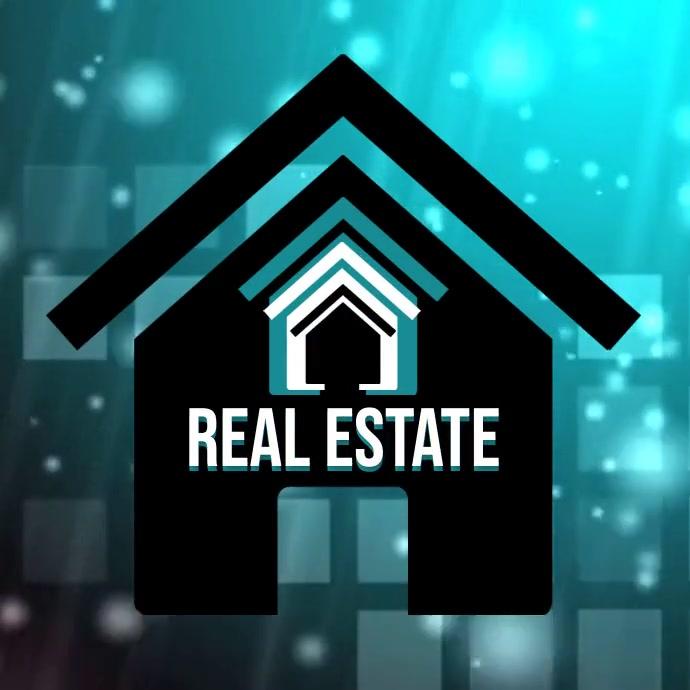 Real Estate Agent Flyer Logo template