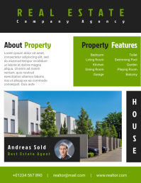 Real Estate Agent Flyer Templates Design