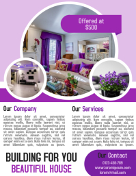 Real estate and property business flyer and poster template
