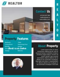 Real Estate Brochure & Flyer Design Template