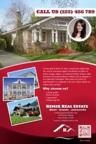 Real estate brochure (Red version)