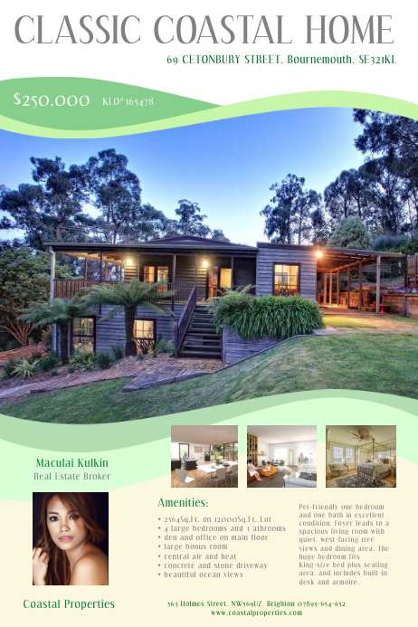 Real Estate Brooker Flyer