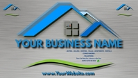 real estate Business card Tarjeta de Presentación template