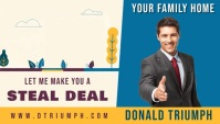 real estate business card online social media