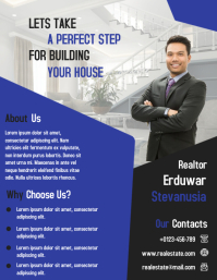 Real Estate Business Promotion Flyer and Poster Template