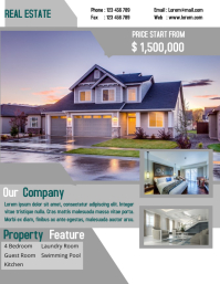 Real Estate Company Flyer