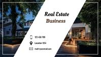 real estate Besigheidskaart template
