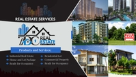 Real Estate Facebook Cover Video (16:9) template