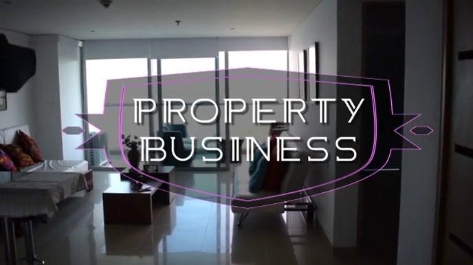 real estate Tampilan Digital (16:9) template