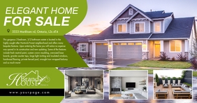 Real estate Facebook Shared Image template