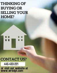 Real Estate Flyer (US-Letter) template