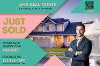 REAL ESTATE Label template