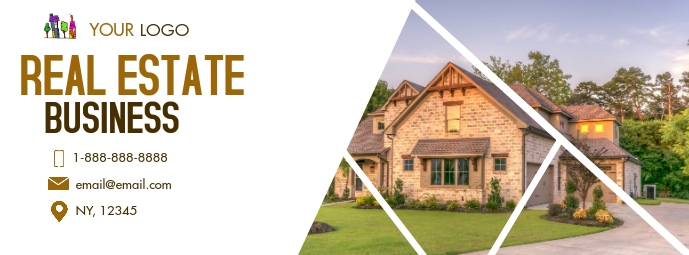 Real Estate Facebook 封面图片 template