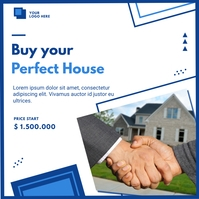 Real Estate Pos Instagram template