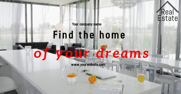 Real Estate Facebook 广告 template